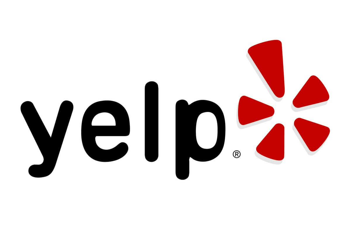 Yelp logo with five star reviews for dog walking, pet boarding and dog boarding